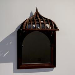 19th century French Architectural Model mounted on Mirror - 1644989