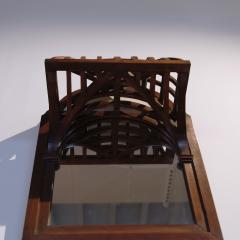 19th century French Architectural Model mounted on Mirror - 1644991