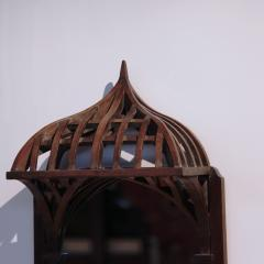 19th century French Architectural Model mounted on Mirror - 1644992