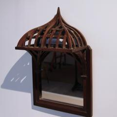 19th century French Architectural Model mounted on Mirror - 1644994