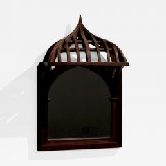19th century French Architectural Model mounted on Mirror - 1648145
