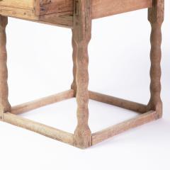 19th century Swedish Oak Side Table - 1635984