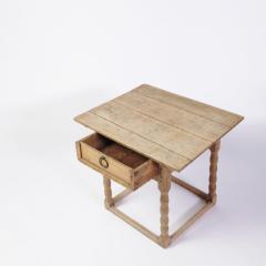 19th century Swedish Oak Side Table - 1635986