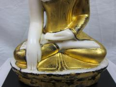 19th to 20th Century Burmese Alabaster Buddha - 360885