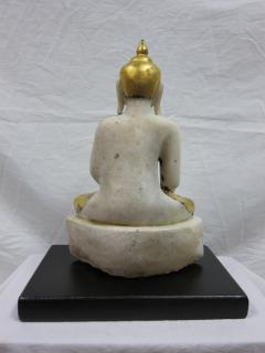 19th to 20th Century Burmese Alabaster Buddha - 360886