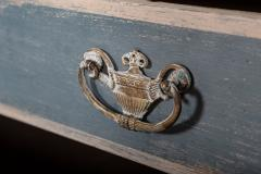 19thC Dutch Painted Housekeepers Cupboard - 2136401