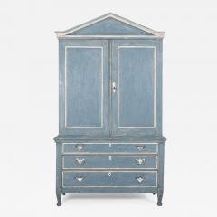 19thC Dutch Painted Housekeepers Cupboard - 2138848