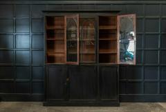 19thC Ebonised Mahogany Arched Glazed Bookcase - 1978639