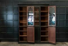 19thC Ebonised Mahogany Arched Glazed Bookcase - 1978640