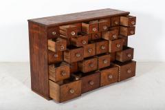 19thC English Mahogany Apothecary Cabinet - 2136406