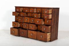 19thC English Mahogany Apothecary Cabinet - 2136407