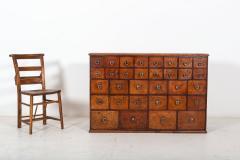 19thC English Mahogany Apothecary Cabinet - 2136408