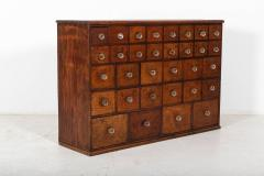 19thC English Mahogany Apothecary Cabinet - 2136411