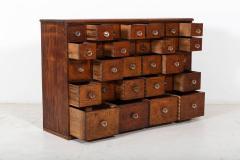 19thC English Mahogany Apothecary Cabinet - 2136412