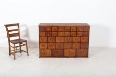 19thC English Mahogany Apothecary Cabinet - 2136413