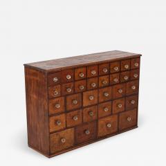19thC English Mahogany Apothecary Cabinet - 2138849