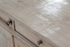 19thC French Painted Fruitwood Buffet - 2047824