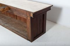 19thC Large French Fruitwood Shop Counter - 2136423