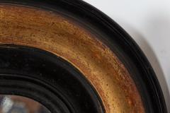 19thC Large French Gilded Ebonised Napoleon III Mirror - 2052112