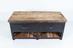 19thC Pair of English Ebonised Pine Counters Kitchen Islands - 2047857