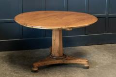 19thC Pine Pedestal Breakfast Centre Table - 1975689
