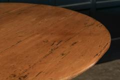 19thC Pine Pedestal Breakfast Centre Table - 1975707