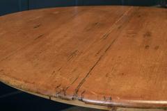 19thC Pine Pedestal Breakfast Centre Table - 1975709