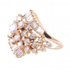2 50 CTW VVS1 VS1 Diamond Cluster Ring - 2139592