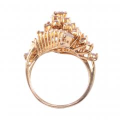 2 50 CTW VVS1 VS1 Diamond Cluster Ring - 2139594