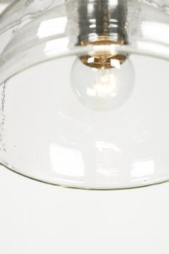 2 glass ceiling lamps Glassworks Limburg 70s - 1782816