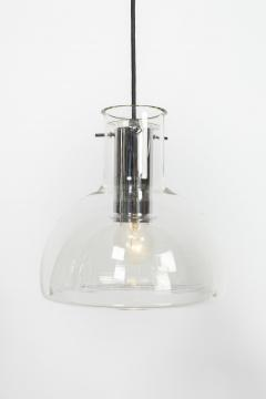 2 glass ceiling lamps Glassworks Limburg 70s - 1782842