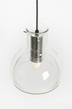 2 glass ceiling lamps Glassworks Limburg 70s - 1782848