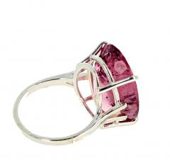 20 04 Carat PinkyPurple Tourmaline Ring - 1866584