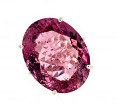 20 04 Carat PinkyPurple Tourmaline Ring - 1866585