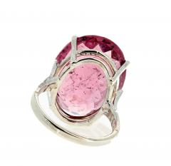 20 04 Carat PinkyPurple Tourmaline Ring - 1866586