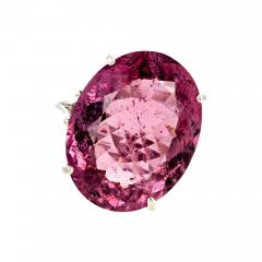 20 04 Carat PinkyPurple Tourmaline Ring - 1873531