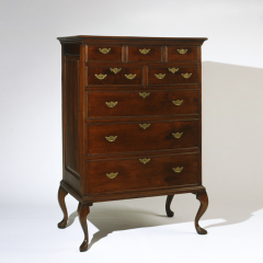 Southern Chester County Pennsylvania Walnut Chest on Removable Legs c 1740 - 6822
