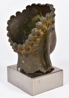 20th Century Bronze Buddha head - 1088451