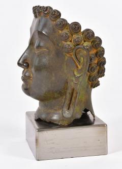 20th Century Bronze Buddha head - 1088454