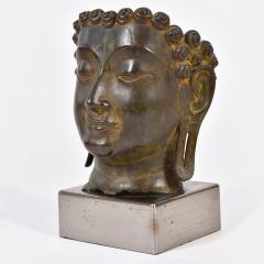 20th Century Bronze Buddha head - 1088457