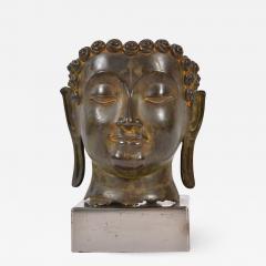 20th Century Bronze Buddha head - 1097197