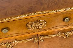 20th Century Burlwood Side Board Gold Design Details - 1038069
