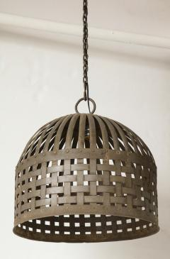 20th Century Iron Cage Chandelier Lucca and Co  - 904497