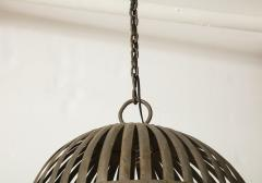 20th Century Iron Cage Chandelier Lucca and Co  - 904498
