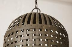 20th Century Iron Cage Chandelier Lucca and Co  - 904500