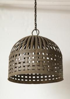 20th Century Iron Cage Chandelier Lucca and Co  - 904501