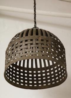 20th Century Iron Cage Chandelier Lucca and Co  - 904502