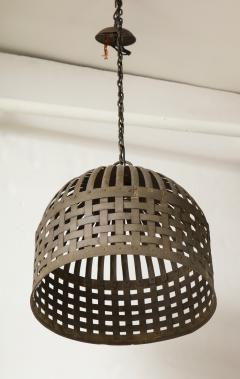 20th Century Iron Cage Chandelier Lucca and Co  - 904503