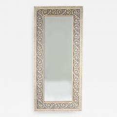 20th Century Wood Framed Wall Hanging Mirror - 1574862