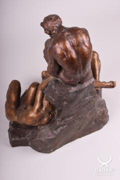 20th century Art Deco Czech Statue - 1771947